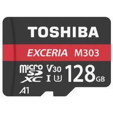 东芝(TOSHIBA)A1 128GB 读速98MB/s 写速65MB/s TF(micro SD) UHS-I V30 U3 4K 高速存储卡