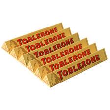 ¥19.9 亿滋进口Toblerone三角牛奶巧克力50g*6条瑞士进口巧克力