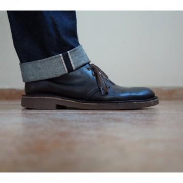 Clarks 其乐 Bushacre 2 男士沙漠靴 黑色 亚马逊海外购 3.3折 直邮中国 ¥229.23