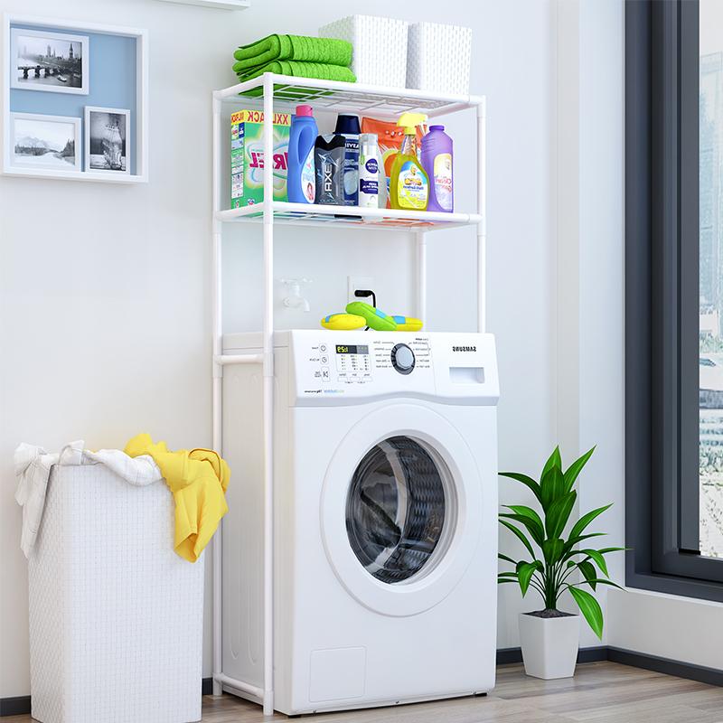 蜗家 Z702 浴室洗衣机置物架 包邮26.9元