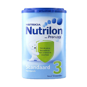 Nutrilon 荷兰牛栏 婴儿奶粉 3段 800g *2件 145元包邮 用107元券后'