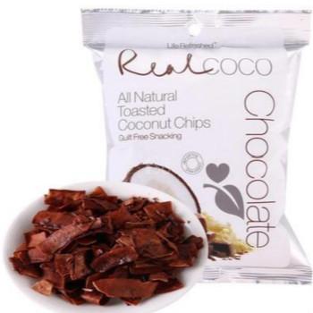 泰国进口 瑞欧 巧克力味椰子干40g*3袋