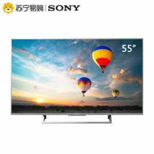 索尼 Sony KD-55X8000E 55英寸 4K液晶电视 预售5949+定金100-抵250-领券400 5399元