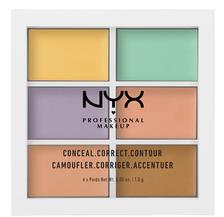 折合85.05元 NYX Professional Makeup 6色 修容遮瑕盘
