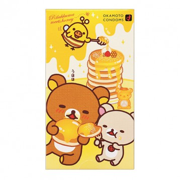 Okamoto 冈本 轻松熊 安全套避孕套 10个装 日淘 6.1折 JPY¥660(¥34)