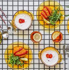 多莱斯(DURALEX) 欧式餐具10件套 琥珀色 法国进口 ¥109