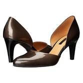 时尚舒适!Ecco爱步女士阿丽特真皮隔断高跟鞋 $68(转运到手约540元)