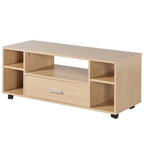 Homestar好事达现代简约带抽电视柜 小户型电视柜 客厅卧室家具1264(供应商直送) 128.8元