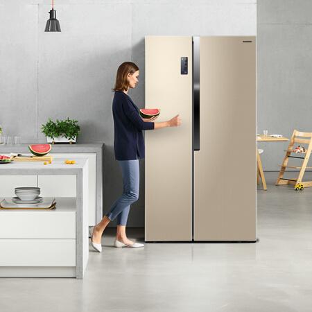 容声(Ronshen) BCD-529WD11HP 529升 变频风冷 对开门冰箱¥2898