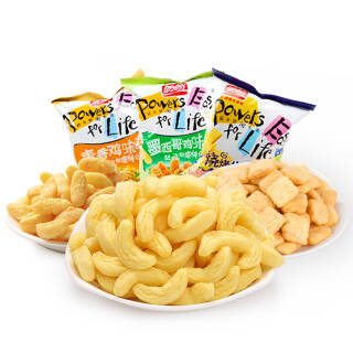 盼盼 零食薯片 膨化食品 麦香鸡味块60g*3 *9件 56.2元(合6.24元/件)