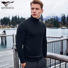 159元包邮(239-80)七匹狼 新款男士加厚纯棉针织衫 多色可选 天猫聚划算好价