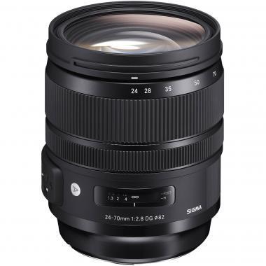 适马(SIGMA) 24-70mm f/2.8 DG OS HSM Art 标准变焦镜头 ¥7299
