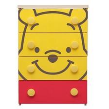 国美 IRIS爱丽思 儿童卡通柜整理柜迪士尼维尼款418元 已降237元