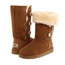 UGG Bailey ButtonTriplet 童款雪地靴 ¥533