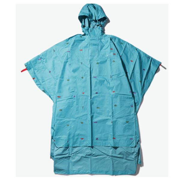 美国品牌:CHUMS Andes 纯色印花雨衣 308元包邮