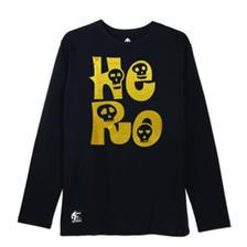白菜!KXTOYS HeRo骷髅字母 印花长袖T恤 59元包邮