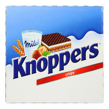 knoppers 牛奶榛子巧克力威化饼干家庭装 24包 66.8元包邮