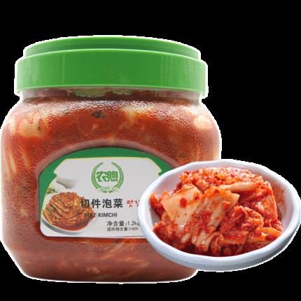 农煦 韩国泡菜 1200克 14元包邮