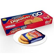 9.9元 麦维他(Mcvitie's) 全麦粗粮酥性原味消化饼干 176.4g 分享装