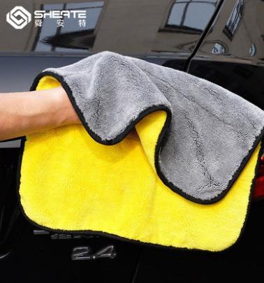降3元新券! 舜安特 加厚洗车毛巾