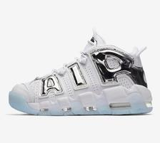 NIKE 耐克 AIR MORE UPTEMPO CHROME BLUE 女子运动鞋 1299元包邮