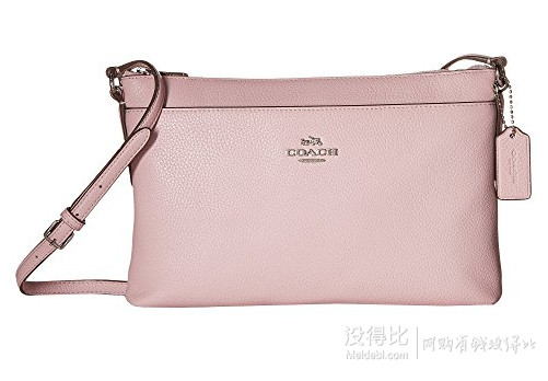 COACH 蔻驰 Polished Pebble Journal 女士斜跨包