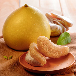�g溪白心蜜柚 白肉柚子2个装约5斤