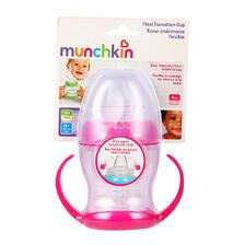 ¥10.8 Munchkin 满趣健 婴儿4盎司奶嘴式训练杯