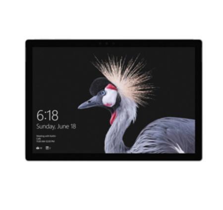 微软(Microsoft) 2017款 Surface Pro 12.3英寸 二合一平板电脑 + 键盘盖¥8188