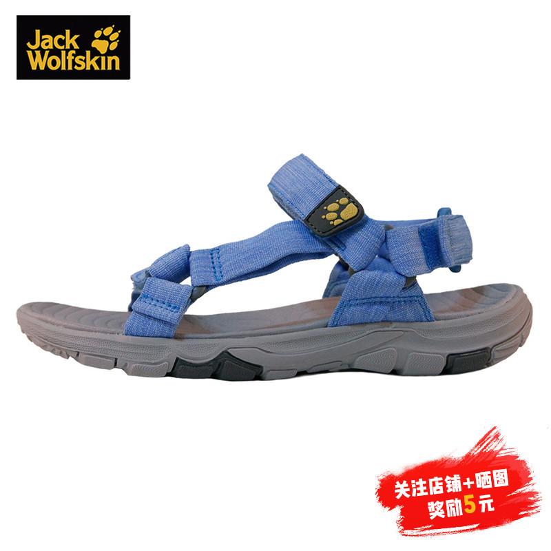 JACKWOLFSKIN狼爪女款夏季户外舒适透气耐磨凉鞋沙滩鞋4022441 189元