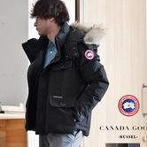 Canada Goose RUSSELL PARKA 男士短款羽绒服 95360日元(需用码),约5626元,可直邮