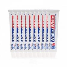 京东商城 LION狮王 White & White 美白牙膏 150g*10支99元包邮包税 组合好价