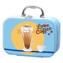麦斯威尔速溶咖啡随行收纳咖啡礼盒(蓝色)49元