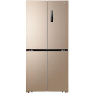 美的Midea 468升 多维智能双变频十字对开多门冰箱 63.6cm薄身 风冷无霜 电脑3898元