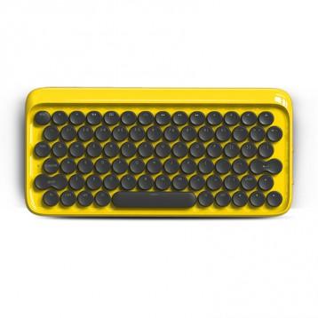 好价再来!全网最低!适合独自享用的高颜值青轴蓝牙键盘Lofree洛斐 苹果系列全对应 8.3折 ¥379