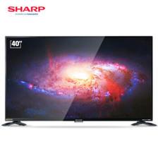 夏普 (SHARP) LCD-40SF466A-BK 40英寸全高清wifi智能网络液晶平板电视机(黑色) 16