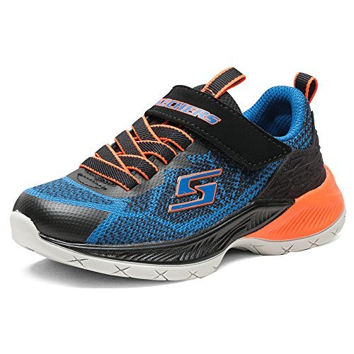¥179 Skechers 斯凯奇* SKECHERS BOYS 男童 休闲运动鞋 97700L-RYBK11 宝蓝色/黑色 27.5 (US 11)(亚马逊自营商品, 由供应商配送)