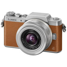 松下(Panasonic) Lumix DMC-GF8 微单套机 (12-32mm) 摩卡棕 ¥2199
