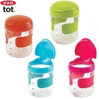 $3.99 OXO Tot Flip-Top 婴幼儿零食杯 5oz,蓝色