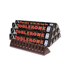 TOBLERONE 瑞士三角 黑巧克力含蜂蜜及巴旦木糖 50g*10条 35元包邮(需用码)