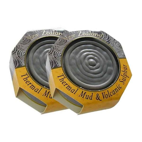 Parrs帕氏火山泥硫磺皂115克/块*2件装 限时特价77元(需邮费)