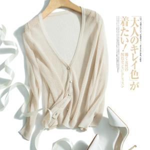 绒创 镂空针织衫 蚕丝混纺空调衫 28元包邮 平常68元