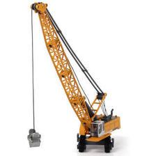 凯迪威 工程汽车模型 1:87塔式缆索挖掘车吊车玩具原厂仿真合金汽车玩具 *5