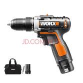 18日8点: WORX 威克士 WX128.7 12伏锂电钻双电版 378元