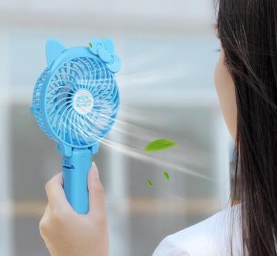 ¥14.8 早买早优惠!手持usb可充电迷你小型电风扇