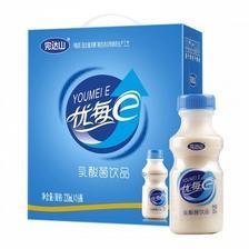 京东商城 完达山 优每e乳酸含乳饮料220ml*16瓶35.8元(已降10元)