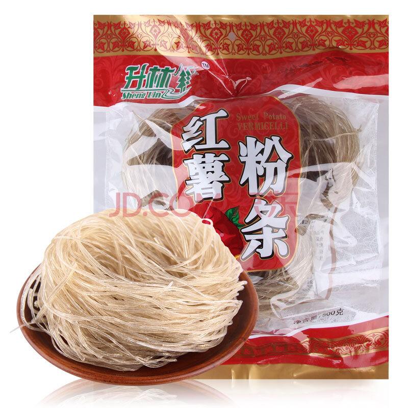 ¥4.55 升林 红薯粉条 500g