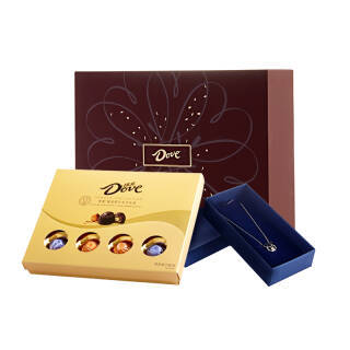 Dove 德芙 尊慕巧克力礼盒 280g + 阿尔卑斯棒棒糖小提箱礼盒女生版+凑单品 99元