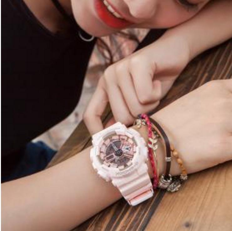折合540.8元 小仙女的表!CASIO 卡西欧 G-Shock S 中性时尚腕表