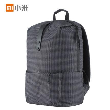 ¥79 MIUI/小米学院休闲双肩包男女2017新款大容量百搭旅游背包